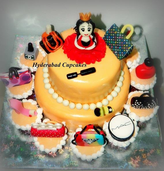 Designer Brands Princess Cake Cupcakes